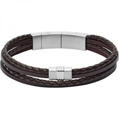 f20b3e7c4df7 Men  s Fossil Bracelet Vintage Casual JF02934040... for sale online at  Crivellishopping.co.uk at the best price.  fossil  jewelry  fashion