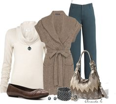 """""""Ralph Lauren Shawl Cardigan"""" by ailunsford ❤ liked on Polyvore"""