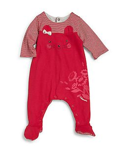 Catimini Infant's Rabbit Footie