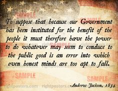 ANDREW JACKSON Politics Quote PICTURES PHOTOS and IMAGES