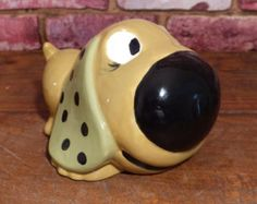 Shop for on Etsy, the place to express your creativity through the buying and selling of handmade and vintage goods. Big Noses, Piggy Banks, Pin Collection, Coins, Cool Stuff, Retro, Creative, Handmade, Vintage