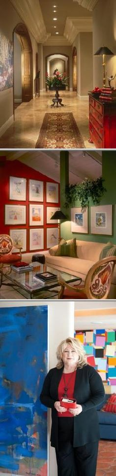 These residential, institutional and commercial interior designers specialize in color, artwork and lighting. They also provide consultation, furniture layouts and purchasing, space planning and more.