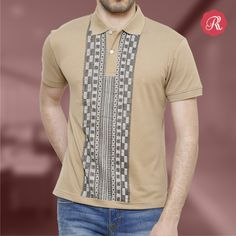 Hand Painting has always been a particular feature in Rang Rage collections, created for the man that likes to stand out and is always open to change.  Get this Designer Soothing Lebanese T-shirt from http://bit.ly/1RRAxRK