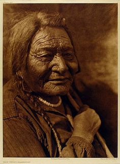 Edward S Curtis - Calf Child-Blackfoot, 1926 by The History of Photography Archive.