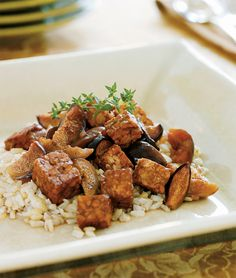 Slow Cooker Tempeh Braised with Figs and Port Wine from The Vegan Slow Cooker