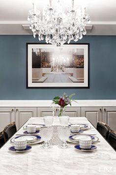 프렌치모던 스타일의 호텔같은 아파트 인테리어 - 밤섬 자이 : 네이버 포스트 Prefab, Table Settings, Living Room, Interior Design, House, Furniture, Home Decor, Palace, Classic