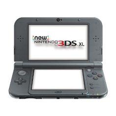 Nintendo Handheld Console 3DS XL - New Nintendo 3DS XL Metallic - Black: Amazon.co.uk: PC & Video Games