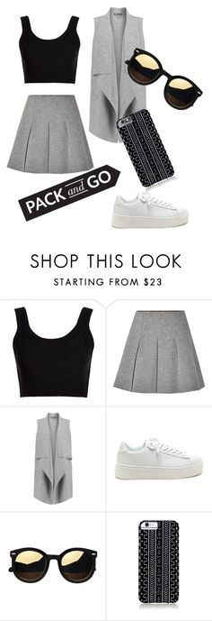 """pack and go labor day"" by evagelialove on Polyvore featuring Calvin Klein Collection, T By Alexander Wang, Vince and Savannah Hayes"