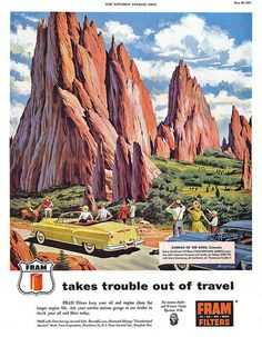 Frahm Filters - 1954 Garden of the Gods Colorado Springs