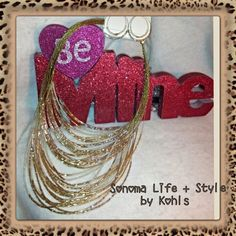 ✔✔✔Beaded Gold & Pearl Set A very beautiful and substantial statement piece necklace and earrings set! It's many strands of gold and pearl beaded and a very nice way to add pop to an outfit that maybe kinda needing that WOW factor! You will be seen in this ! Brand new was 20$ Sonoma Life + Style  Jewelry
