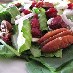 Cranberry Pecan Salad Allrecipes.com