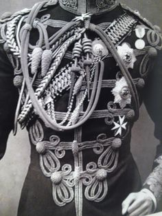 Detail of 10th Hussars uniform...