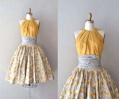 1950s dress / silk 50s dress / Estévez for Grenelle by DearGolden, $395.00