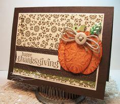 Love this pumpkin . . .