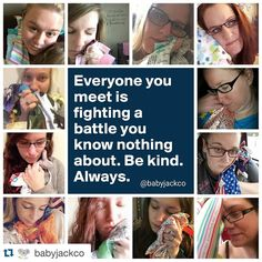 #Repost @babyjackco with @repostapp. ・・・ Be kind. Always. @spreadthelovey  These women are some of the strongest I know. Each and every #babyjackfan mom has a story. Join me as we share each of them starting with @katiemcrenshaw on the blog tomorrow!