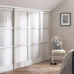 Beau 3 Pane Sliding Doors, Frosted Glass Inserts Glass Sliding Wardrobe Doors,  Fitted Wardrobe Doors
