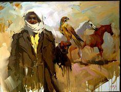 very beautiful painting by Iraqi painter ALI NEMAH