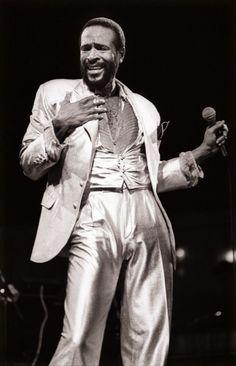 Marvin Gaye - Fashion of music artists Marvin Gaye, Music Icon, Soul Music, My Music, Columbia, Vintage Black Glamour, Soul Singers, Toni Braxton, Star Wars