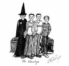 Veja as ilustrações que J.K. Rowling fez de Harry Potter