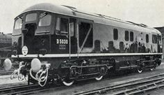 1959 first diesel built at crewe a class 24. Courtesy of Phil Marsh collection: rail.co.uk  Beeching, Rail, British Rail, Vintage Trains, Trains