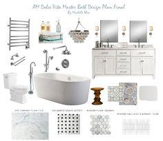 AM Dolce Vita: Master Bathroom Reveal