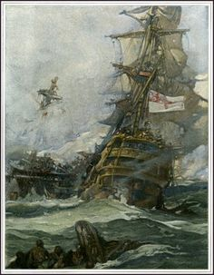 Battle. Read about epic battles in GENTLEMAN OF FORTUNE The Adventures of Bartholomew Roberts, Pirate. www.evelyntidmanauthor.com