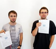 Its always great to see your employees gain knowledge and new experience. We are glad to tell you that our developers Patryk and Mateusz passed Microsoft Visual Studio 2012 certificate in the field of Java Script HTML5 and CSS3. We are really proud congratulations! #CodersCenter #ITCompany #Technology #tech #IT  #InformationTechnologyandService #Itjobs #marketing #marketingautomation #digiatalmarketing #business #socialmedia #Developer #startup #development #selfdevelopment Microsoft…