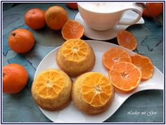 Lecker mit Geri: Mandarinen-Muffins - Мъфини с мандарини