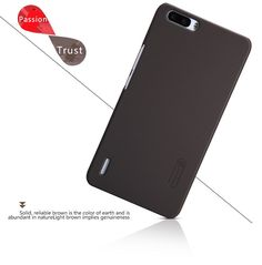 Nillkin Super Frosted Shield Case Back Cover For HUAWEI honor 6 Plus 6Plus High Quality Case For honor6 Plus + Screen Protector