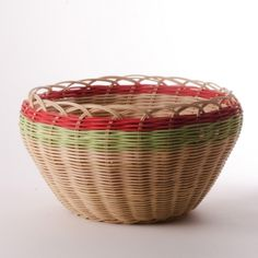 Lime & Orange Basket by Mary Stone
