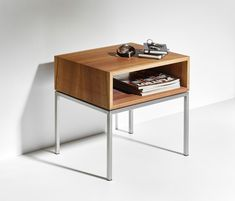 Nightstand, Furniture, Tables, Home Decor, Bedside Tables, Mesas, Bedside Table Design, Bedside Desk, Steel