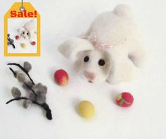 Sale! Easter Decorations by OlessiaWoolPets