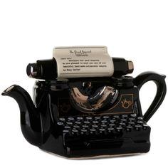 PHOENIX Surreal Teapots   Carters Typewriter Teapot, £85, Selfridges