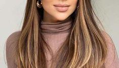 Cutest Face Framing Long Balayage Hairstyles for Women in 2020 Bob Haircuts For Women, Short Bob Haircuts, Straight Hairstyles, Cool Hairstyles, Best Push Up Bikini, Short Hair Cuts, Short Hair Styles, Hair Color Balayage, Hair Colour