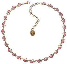 Bild für Halskette Filigree pink