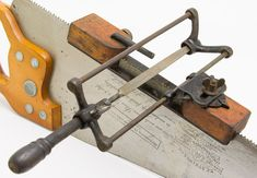 File type saw sharpener (Wilson Patent Saw Filer)