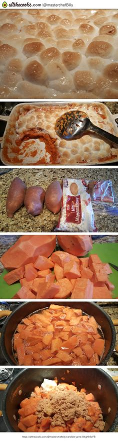 Candied Yams - Extremely easy and super tasty