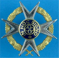 South African Corps Of Chaplains (Christian) Officers' metal cap badge for sale