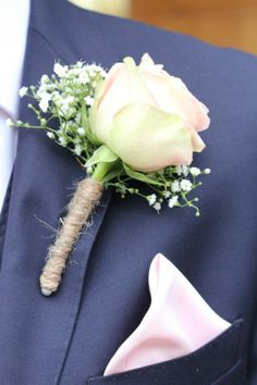 Rose and Gyp buttonhole