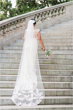 Maymont Mansion Bridal Portraits | Richmond Wedding Photographer - Christina Forbes Photography | Stella York wedding dress