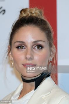 Olivia Palermo attends the ELLE magazine party in Madrid on October 26 2016 in Madrid Spain