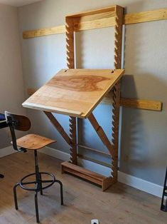 DIY Art Desk with adjustable height and settings adjustable angle Art Desk .DIY Art Desk with adjustable height 46 ideas for farm patio furniture Ana White ana farmhouse furniture idea ideas for Furniture Projects, Home Projects, Diy Furniture, Furniture Design, Furniture Plans, Diy Projects For Bedroom, Furniture Handles, French Furniture, Farmhouse Furniture