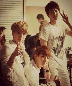 Sehun, Baekhyun and Suho #EXO