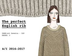 "Check out new work on my @Behance portfolio: ""The perfect english rib - Knitwear capsule"" http://on.be.net/1N0ovYH #knitwear #fashion #design #englishrib"
