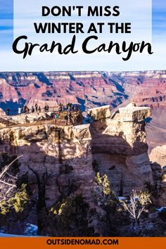 The Ultimate Packing List for Hiking the Grand Canyon in winter. Skip the crowds and experience the Grand Canyon the way it was meant to be. Winter Vacation Packing, Winter Family Vacations, Vacations In The Us, Family Travel, Grand Canyon Winter, Ultimate Packing List, Ultimate Travel, Visiting The Grand Canyon, Winter Hiking