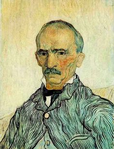 Friends of Vincent (@VanGoghADay) | Twitter  Portrait of Trabuc, an Attendant at Saint-Paul Hospital Oil on canvas Saint-Rémy: September, 1889 Solothurn: Kunstmuseum Solothurn