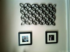 This is made out of toilet paper rolls!!!! I don't think I could ever do this but it's pretty damn cool!
