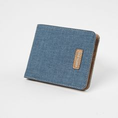 Canvas Denim Wallet