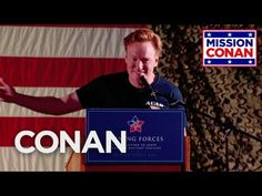 Conan takes on the military's love of acronyms at Al Udeid's Memorial Plaza, AKA The Bra. More CONAN @ http://teamcoco.com/video Team Coco is the official Yo...