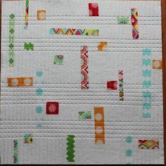 modern quilts   Jackie's Art Quilts: Modern Mini Quilt Challenge